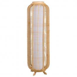 Lampara de Pie de Bambu