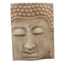 Buda Relieve - Cemento y Fibra