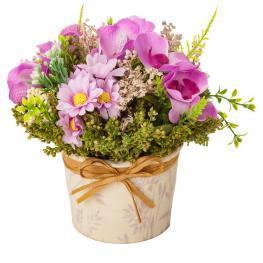 Maceta de Flores Secas