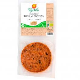 Vegeburguer de Tofu y Lenteja 160Gr Bio
