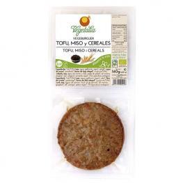Vegeburguer Tofu/miso/cereales 160G Bio