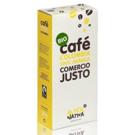 Cafe Colombia 100% Arabica 250 Gr Bio