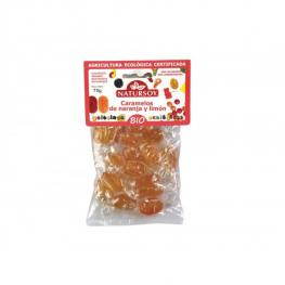 Caramelos de Naranja y Limon 75 Gr Bio