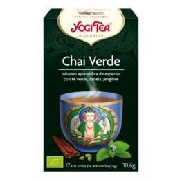 Yogitea Chai Verde 17 Bolsitas.