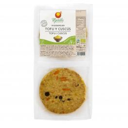 Vegeburguer de Tofu/cuscus de Espelta 160Gr Bio