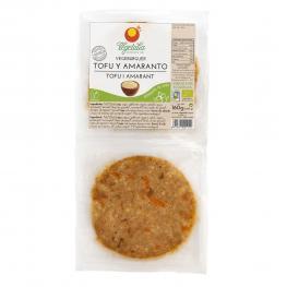 Vegeburguer de Tofu/amaranto Sin Gluten 160Gr Bio