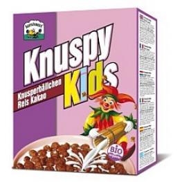 Choco Crispis Knuspy Kids 250 Gr Bio