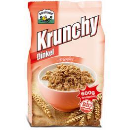 Crunchy Espelta y Coco 600 Gr Bio