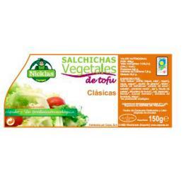 Salchichas Tofu Clasicas 2 Uds 150 Gr Bio Chefranz