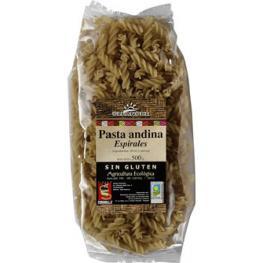 Espirales de Arroz/quinoa Sin Gluten 500 Gr Bio