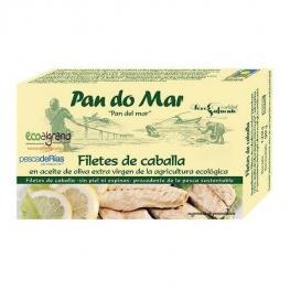 Filetes de Caballa En Aceite de Oliva 120 Gr