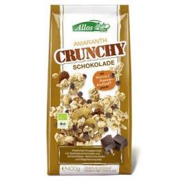 Crunchy de Amaranto Con Chocolate Negro 400 Gr Bio