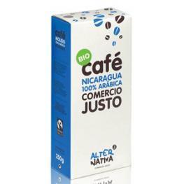 Cafe Nicaragua 100% Arabica 250 Gr Bio