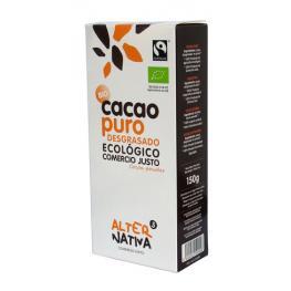 Cacao Desgrasado Puro 150 Gr Bio