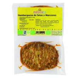 Hamburguesa Setas y Manzana Sin Gluten 150 Gr Bio