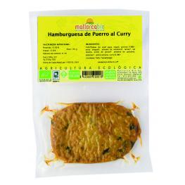 Hamburguesa Puerro Al Curry Sin Gluten 150 Gr Bio