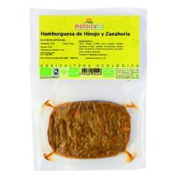 Hamburguesa Hinojo y Zanahoria Sin Gluten 150 Gr Bio