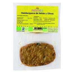 Hamburguesa Seitan y Aceitunas 150 Gr Bio