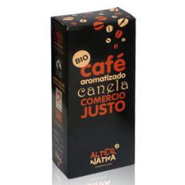 Cafe Arabica Aromatizado Canela 125 Gr Bio