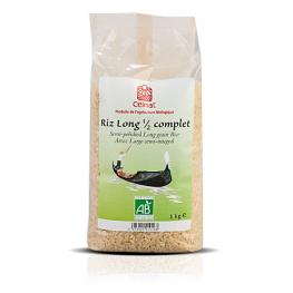 Arroz Largo Semi Integral 1 Kg Bio