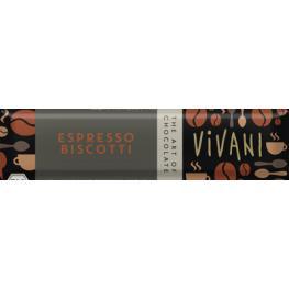 Chocolatina Espresso Biscoti 40 Gr Bio