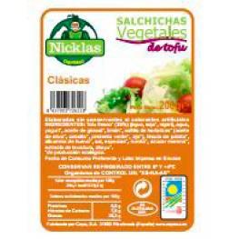 Salchichas Vegetales Tofu Clasicas 200 Gr Bio