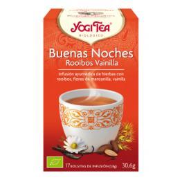 Yogi Tea Buenas Noches Rooibos-Vainilla 17 Bolsitas