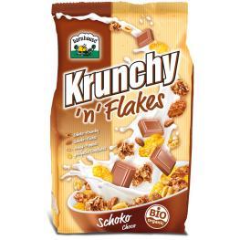 Crunchy Cornflakes Chocolate 375 Gr Bio