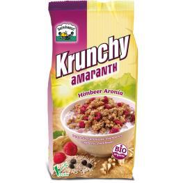 Crunchy Amaranto Frambuesas y Aronia 375 Gr Bio