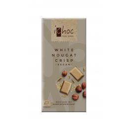 Ichoc Vegano Bebida Arroz White Nougat Crujiente 80 Gr Bio
