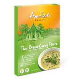 Pasta Curry Verde Tailandes 80 Gr Bio
