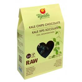Kale Chips Con Chocolate Raw 45 Gr Bio