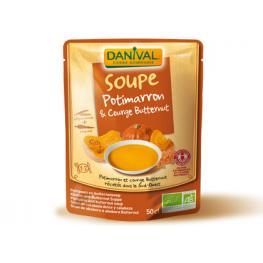 Sopa de Calabaza y Lentejas 520 Gr Bio