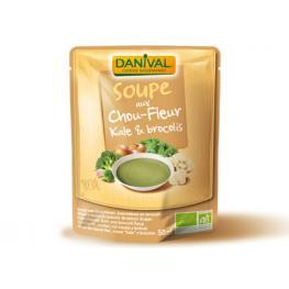 Sopa Kale Brocoli y Coliflor Vegan 520 Gr Bio