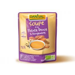 Sopa Boniato Jengibre y Curcuma 520 Gr Bio
