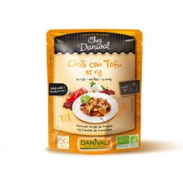 Chili Con Tofu Alubias y Arroz S/g 250 Gr Bio