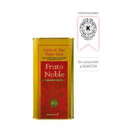 Aceite de Oliva Virgen Extra 1ª Extraccion Frio 5 Lt Bio