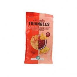 Crunchy Triangulos Trigo Sarraceno, Amaranto y Maiz S/g 80 Gr Bio