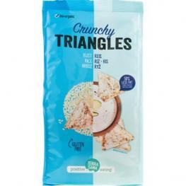 Crunchy Triangulos Arroz S/g 80 Gr Bio