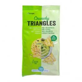 Crunchy Triangulos Maiz y Legumbres S/g 80 Gr Bio