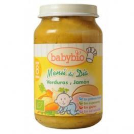 Baby Bio Potito Verduras y Jamon 200Gr