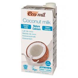 Ecomil Coco Nature Sin Azucar 1L Bio