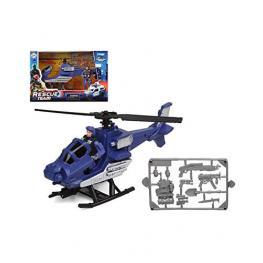 Helicóptero Rescue Team Azul