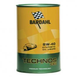 Aceite de Motor Para Coche Bardahl Technos C60 Exceed Sae 5W 40 (1L)
