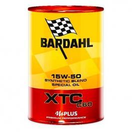 Aceite de Motor Para Coche Bardahl Xtc C60 Sae 15W 50 (1L)