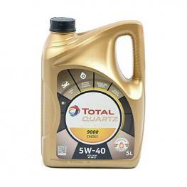 Aceite Lubricante Para Motor Total Quartz 9000 (5L)