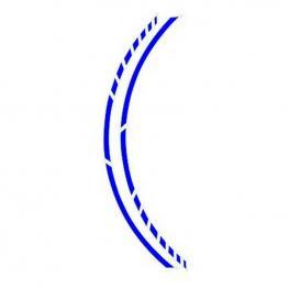 Adhesivo Para Llanta Foliatec Azul