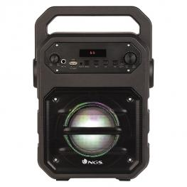 Altavoz Bluetooth Ngs Roller Drum 20W Negro