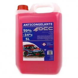 Anticongelante Occ Motorsport 50% Orgánico Rosa (5 L)