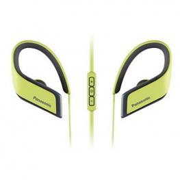 Auriculares Bluetooth Deportivos Con Micrófono Panasonic Rp-Bts30E Amarillo